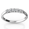 Classic low set wedding and anniversary band