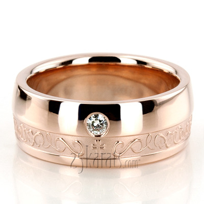 Religious Wedding Bands From Christian Jewish Hearts Cross